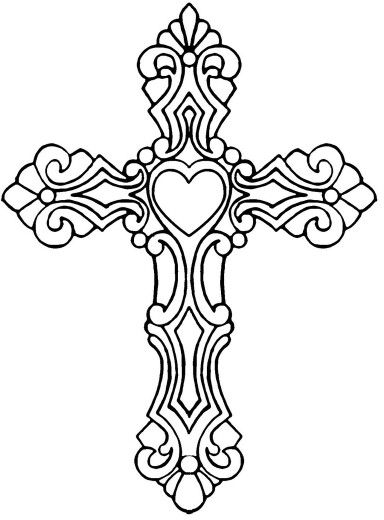 Drawn hearts crosses Drawing ideas 25+ cross Best