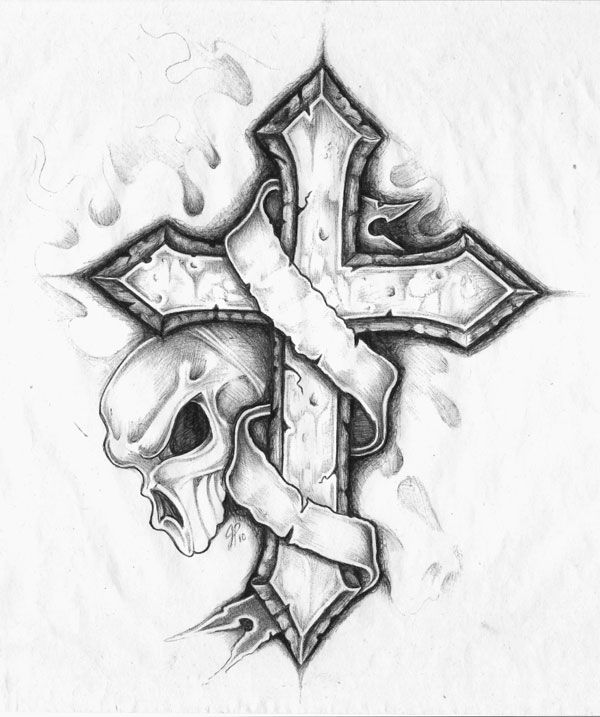Drawn hearts crosses Drawings Tattoos Living Page 24