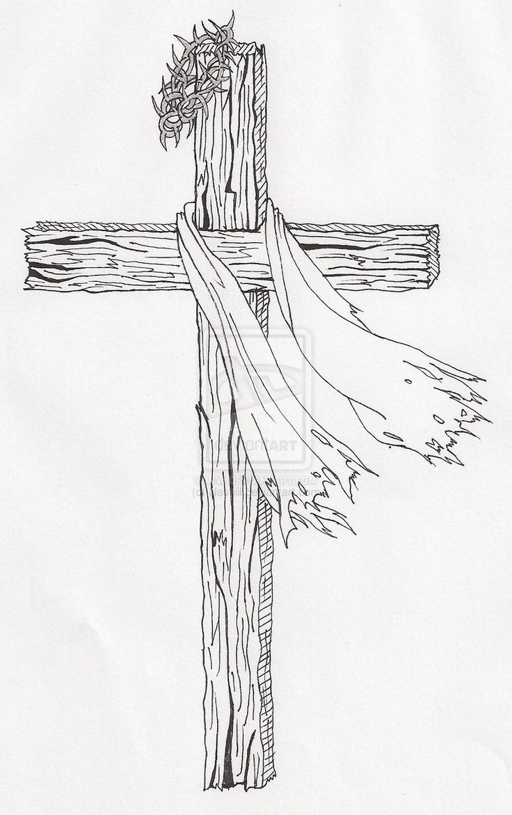 Drawn cross Drawing Search best on Pinterest