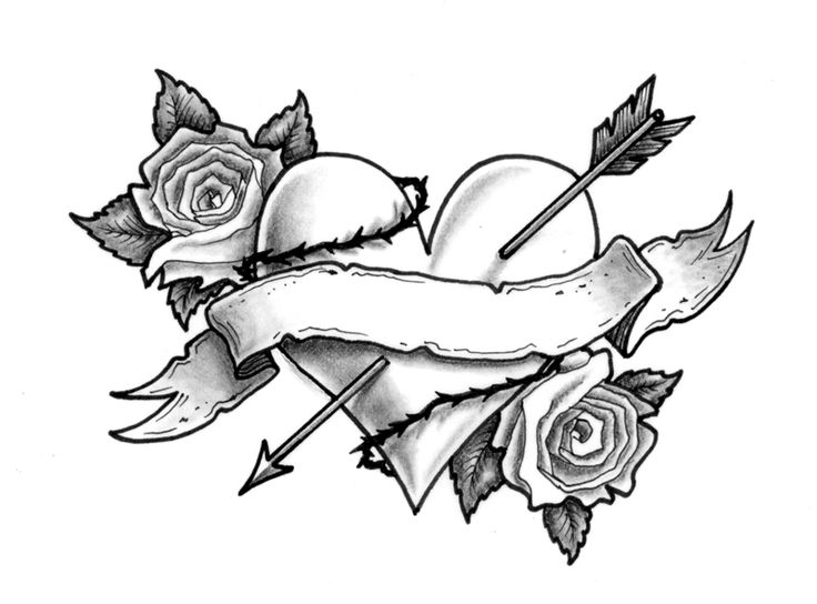 Drawn ribbon bow tie Rose me Rose leave Drawing