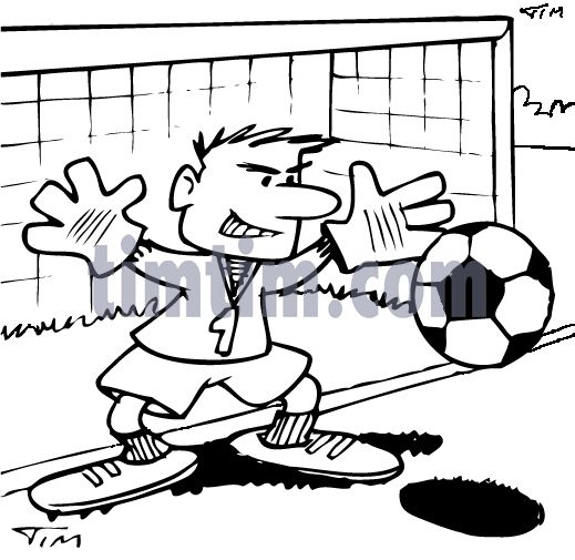 Drawn football amercian 18 How+to+Draw+Soccer 2bw Goalie Drawing