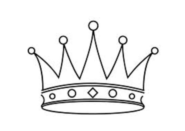 Drawn crown Princess Clip  Free Free