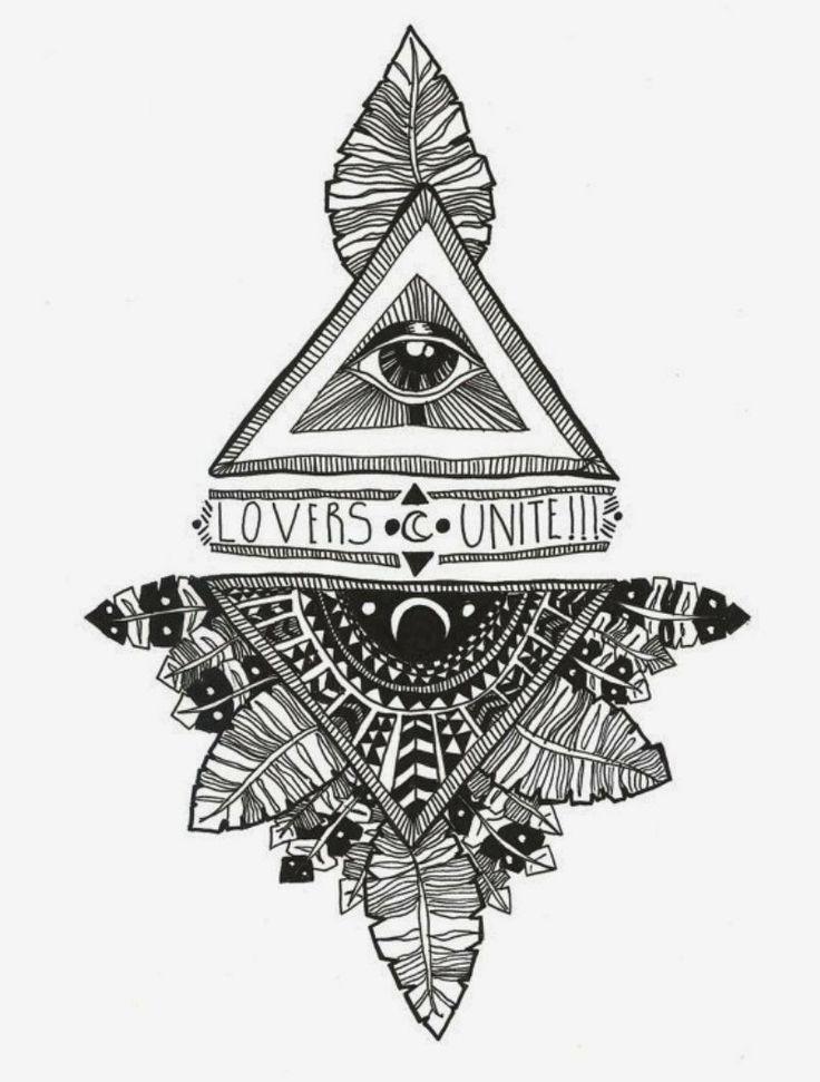 Drawn crystals Bohemian Best Pinterest ideas Diesel