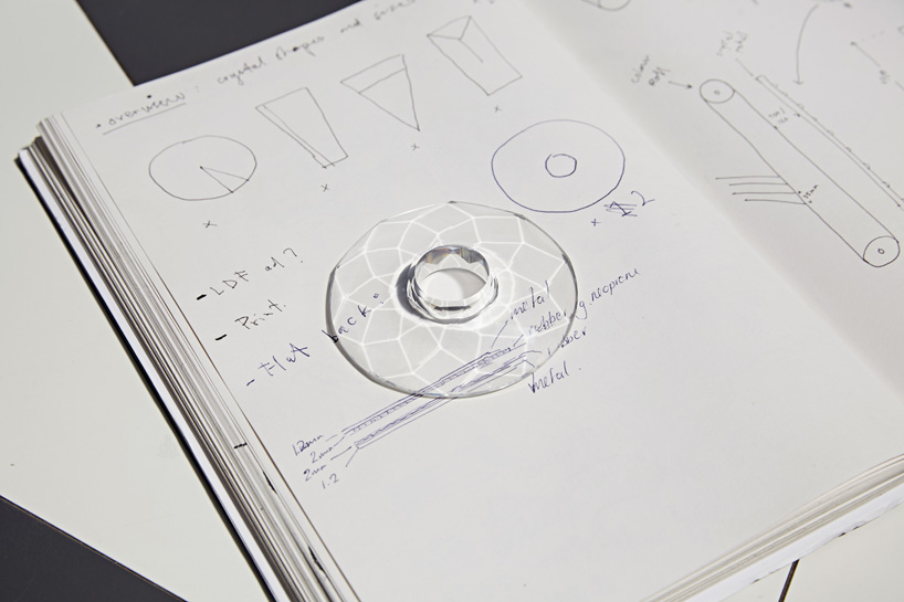 Drawn crystals Swarovski kim V&A at thome_swarovski_designboom_003