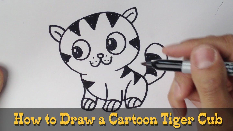 Drawn cub Cub a Draw Cub Tiger