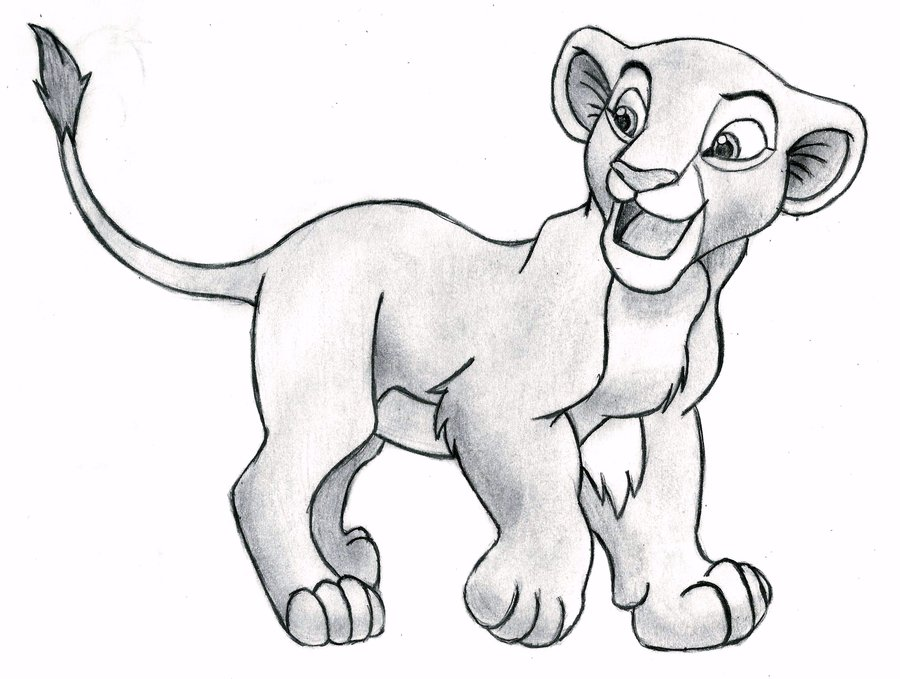 Drawn cub (cub) King King by Nala