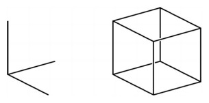 Drawn cube Math determined view (Essays/Dimension) is