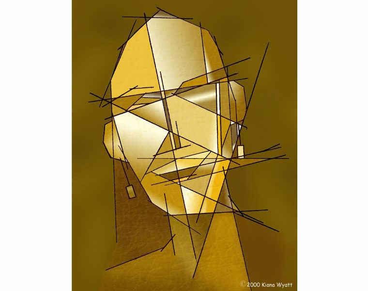 Drawn cubism #9