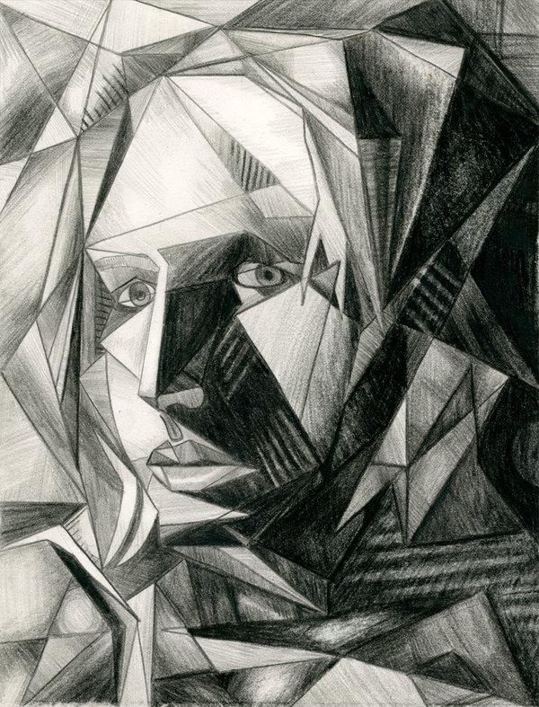 Drawn cubism #15