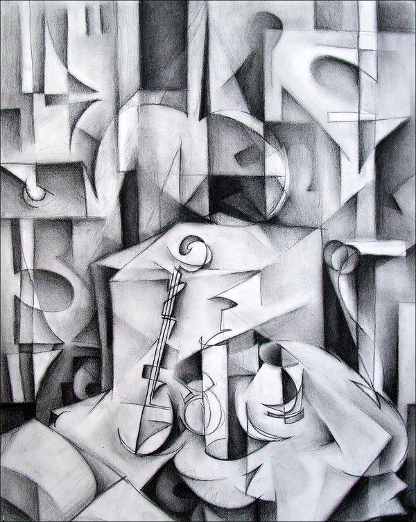 Drawn cubism By mrddixon Pinterest cubism by