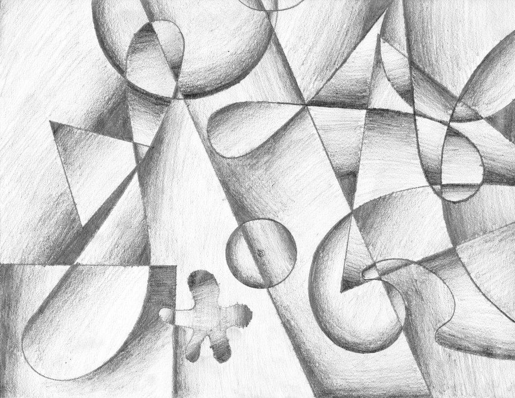 Drawn cubism Drawing Cubism by TheCelticPoet Cubism