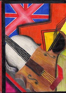 Drawn cubism Half Blast drawing BBC Cubism