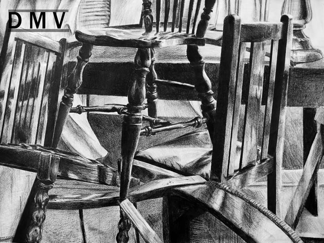 Drawn chair charcoal Still chairs ideas of 50+