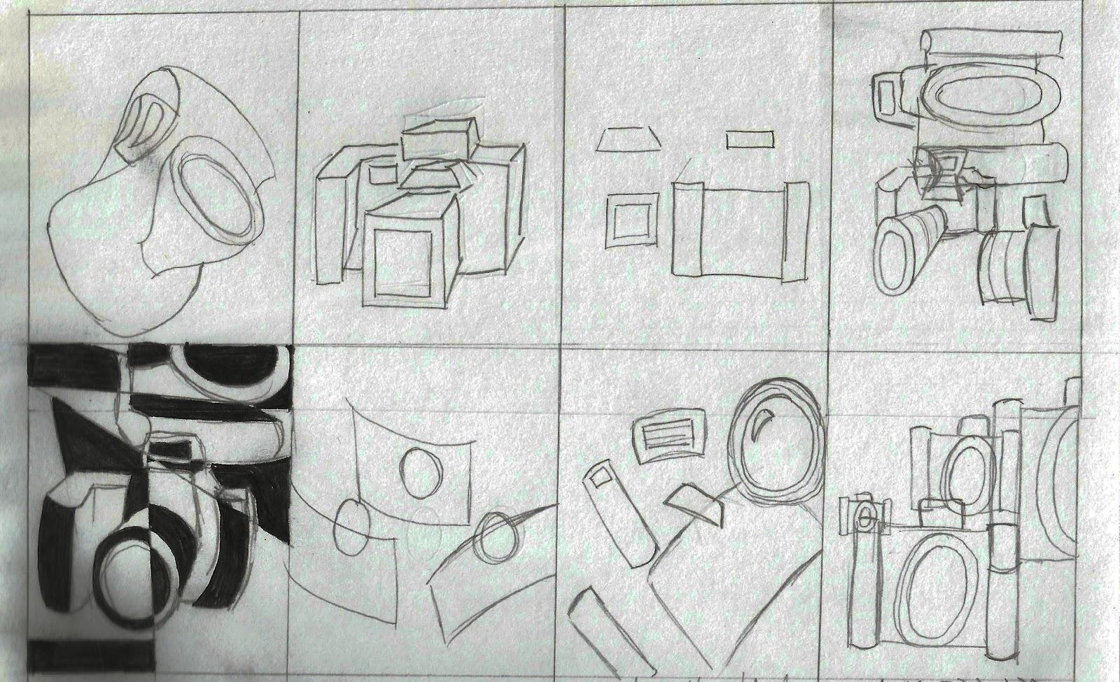 Drawn cubism digital Drawing Visualization of Cubism Blog: