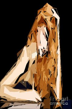 Drawn cubism digital Art Xxiv and Series Cubism