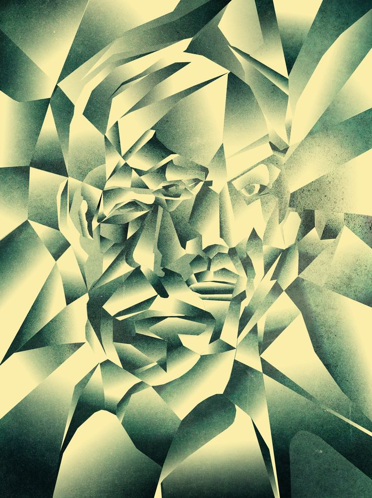 Drawn cubism digital Lasso images tool example the