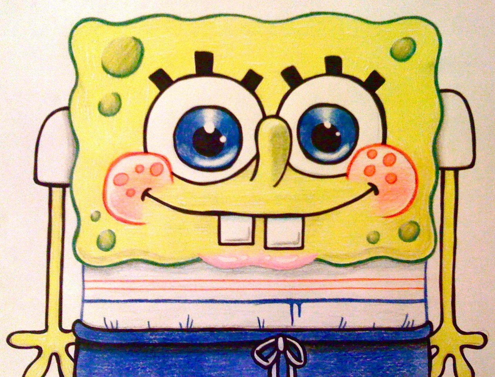 Drawn rainbow high resolution Images Pinterest in Spongebob Wallpaper