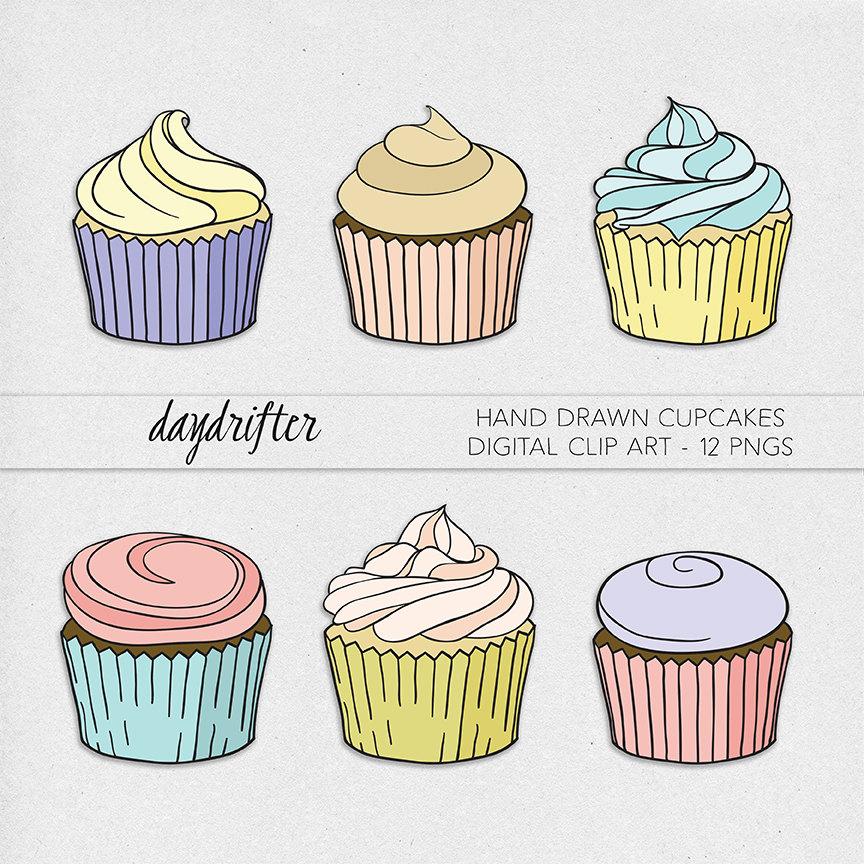 Drawn cupcake Clip file a Drawn This