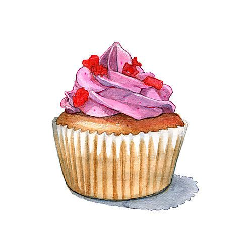 Drawn sweets colorful cupcake Draw Clipart Clip inspiration cupcake