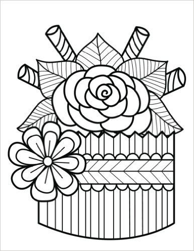 Drawn cupcake blank Cover + images Cupcake best