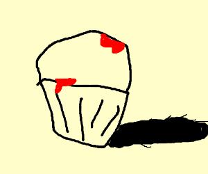 Drawn cupcake bloody Cupcake Spikey (drawing Bloody Bloody