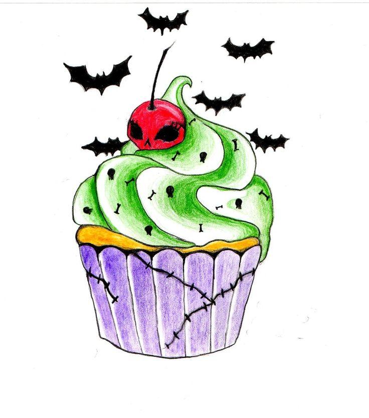 Drawn cupcake bloody Tattoo this Cupcake best more