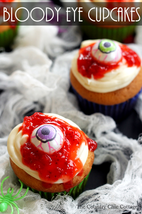 Drawn cupcake bloody The these your Eye cupcakes