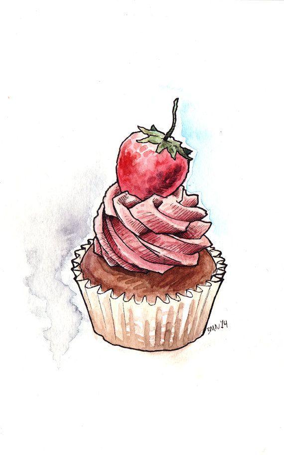 Drawn cupcake bloody Pinterest this best Food cupcakes