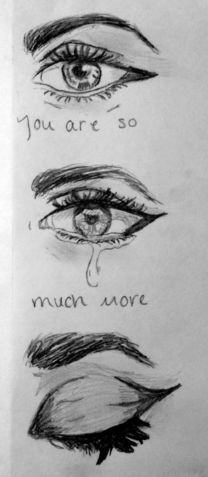 Drawn sad art More to ideas Image drawings