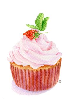 Iiii clipart cupcake  and I D Search