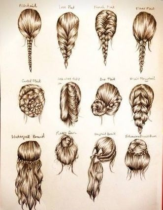 Drawn braid sporty French draw braids French ideas