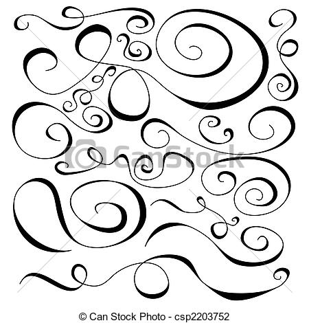 Curl clipart design pattern Collection Collection Curl csp2203752 Art