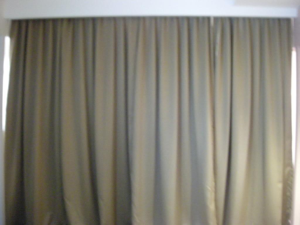 Drawn curtain #9