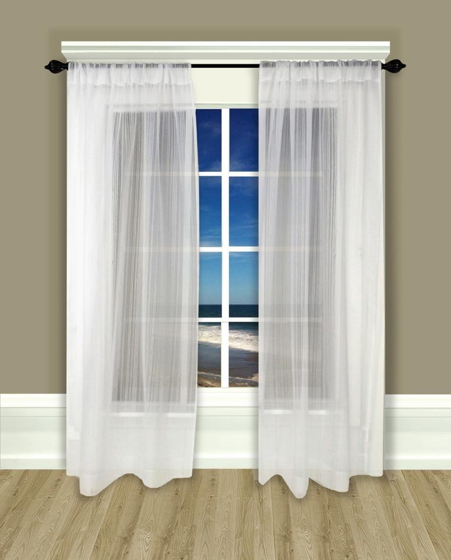 Drawn curtain casement #1