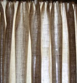 Drawn curtain casement #4