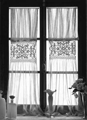 Drawn curtain casement #9