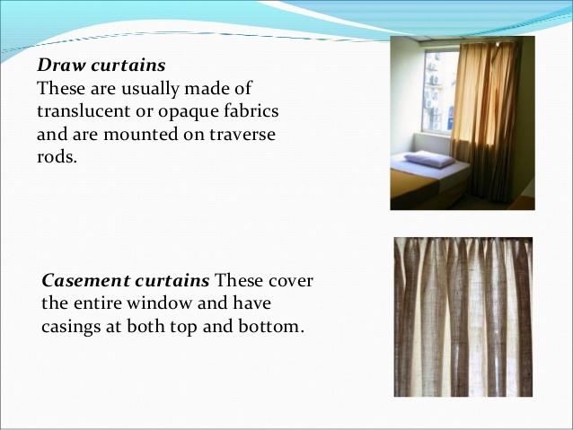 Drawn curtain casement #5