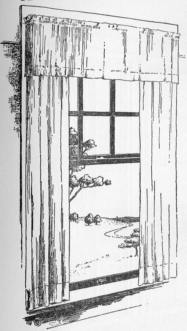 Drawn curtain casement #2