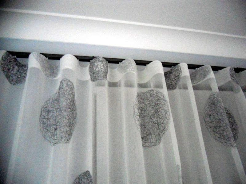 Drawn curtain folded #3