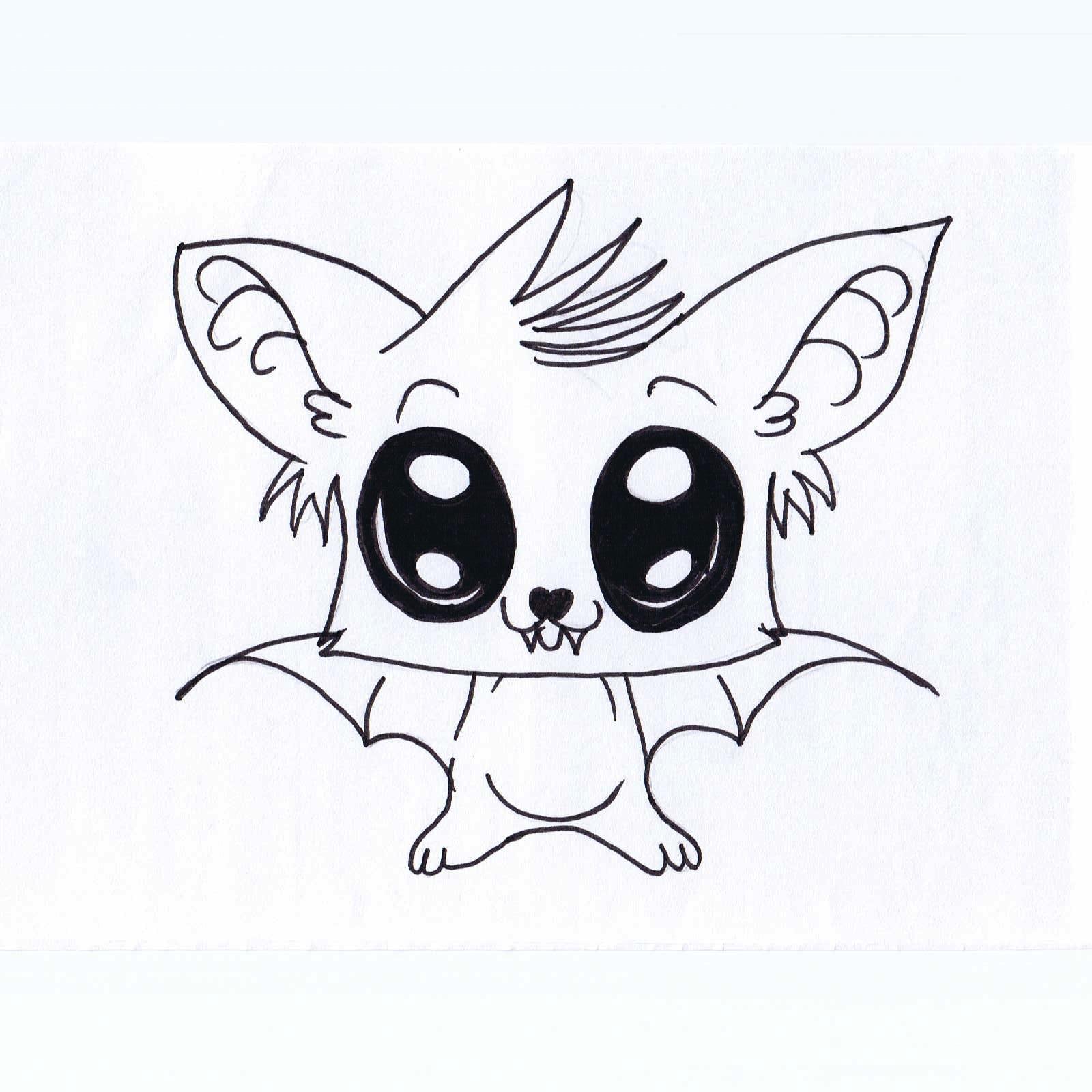 Drawn cute bat Cute Cute Dr Drawings Drawings