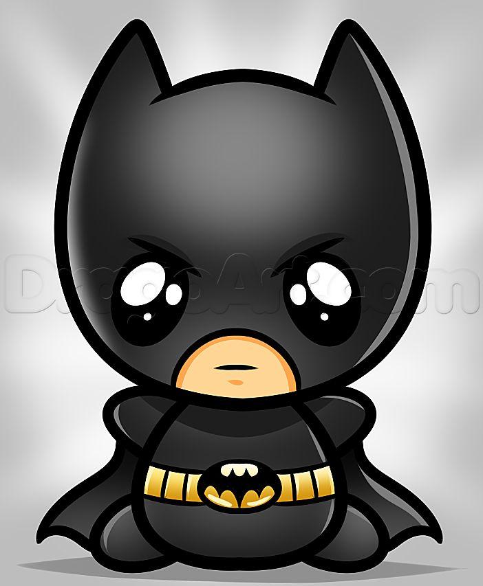 Drawn cute batman Batman kawaii Comics Art Batman