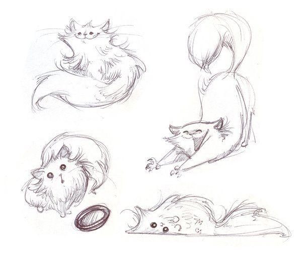 Drawn cute cat My Cute Best me of