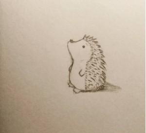 Drawn rodent cute Dit tekenwedstrijd ze want in