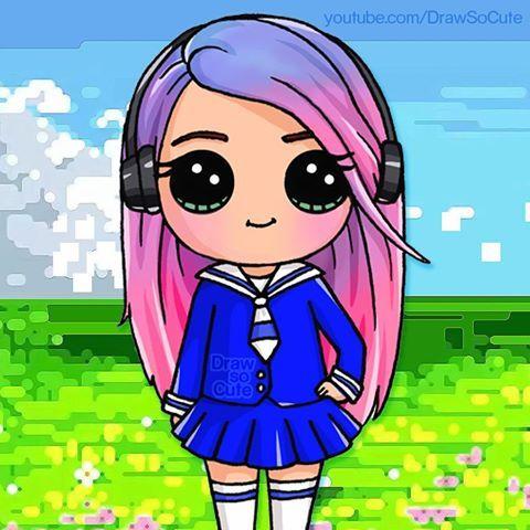 Drawn cute cute person #5