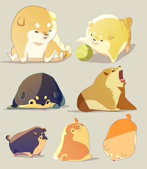 Drawn pug illustration tumblr Of handle Nargyle@tumblr Nargyle@tumblr handle