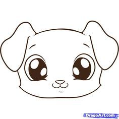 Drawn puppy kawaii On of drawings Of Best