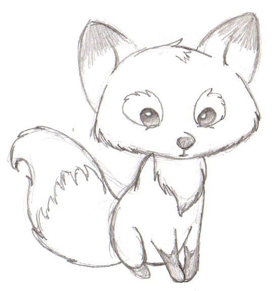 Drawn cute easy draw #9