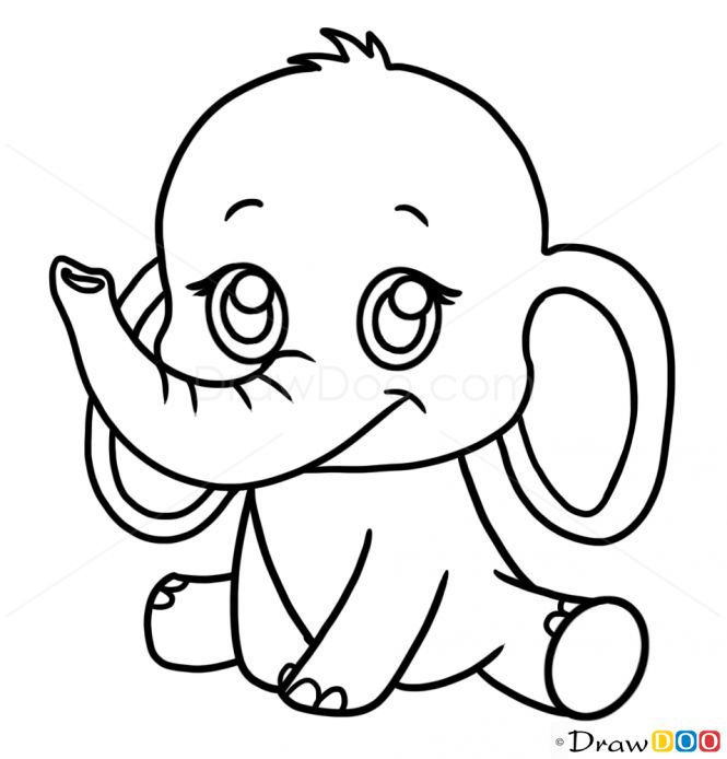Drawn cute easy draw #14