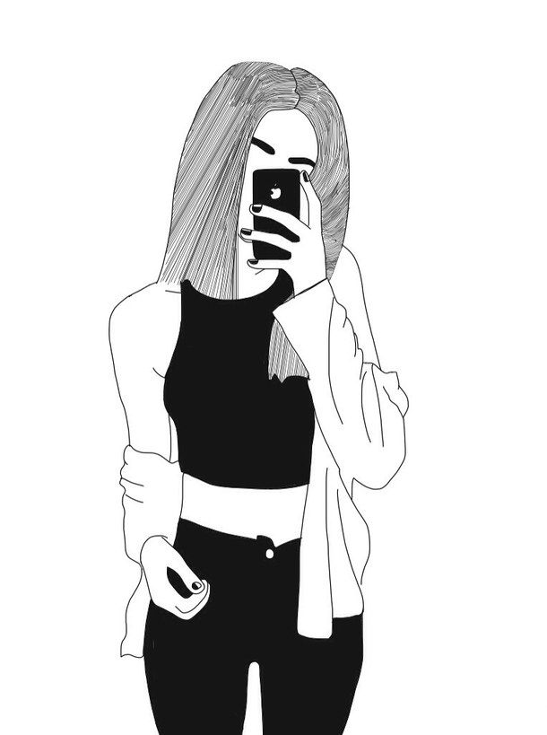 Drawn cute girlfriend tumblr White Best drawing drawings hipster