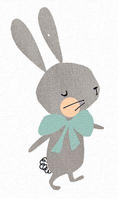 Drawn rabbit cute Cute rabbit drawing 20+ Rabbit